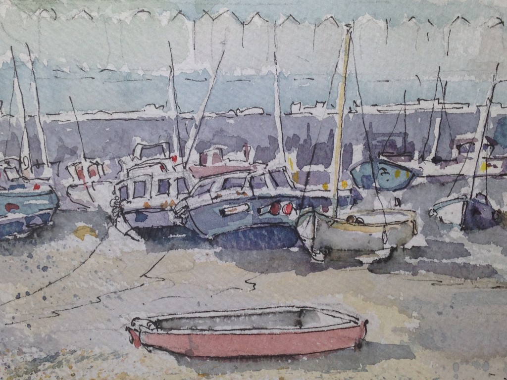 Harbour Sketch