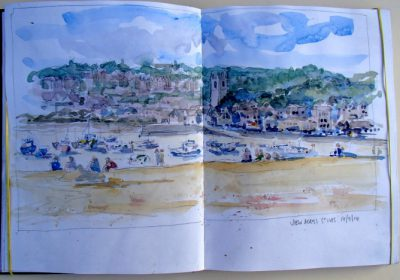 Sketchbook View of St Ives
