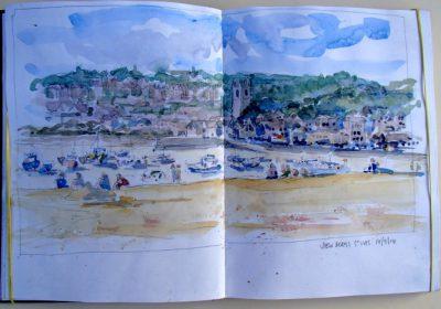Sketchbook View of St Ives