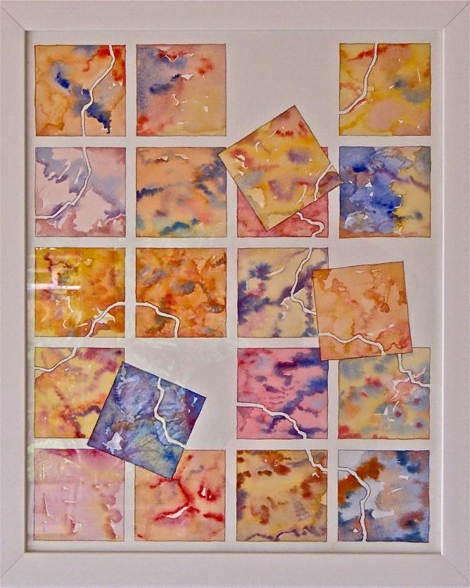 Tessera falling: Colours of Hilbre