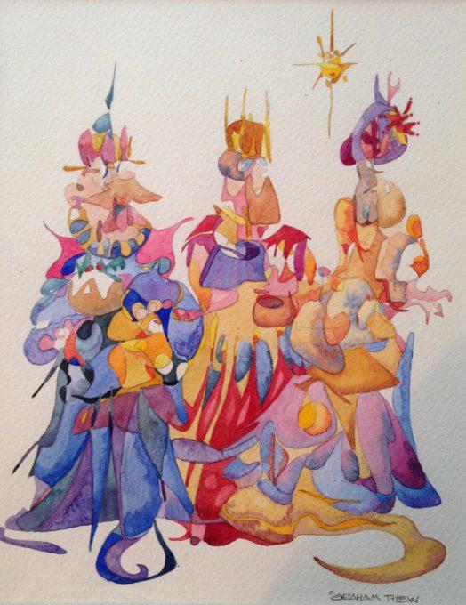 An imagineering of the Magi