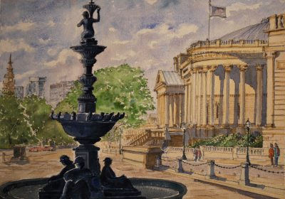 The Steble Fountain, Liverpool