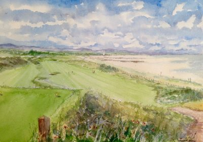 View from the 4th Tee Wallasey Golf Club