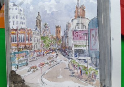 Looking up Lime Street