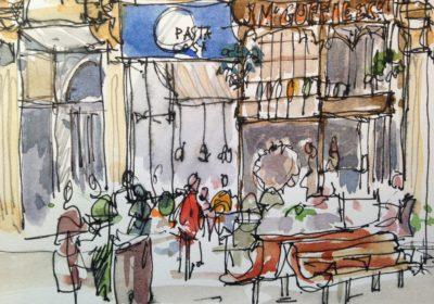 Castle Street Sketch