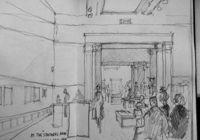 Interior Williamson art gallery