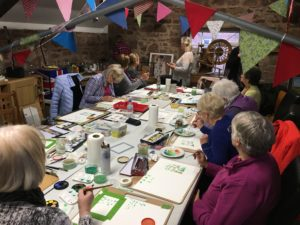 The Heswall W.I art group
