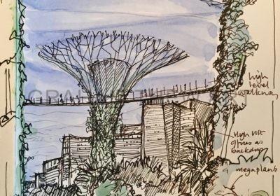 Singapore Sketch