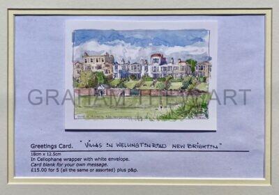 Greeting cards: Wellington Road, New Brighton