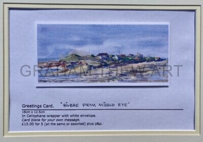 Greetings cards : Hilbre from Middle eye