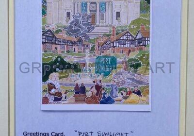 Greetings Card: Port Sunlight